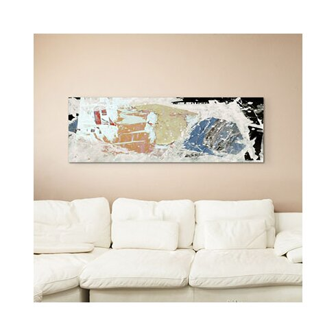 Enigma Panorama Abstrakt 636 Framed Graphic Print on Canvas