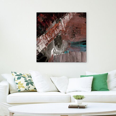 Enigma Abstract 647 Framed Graphic Art