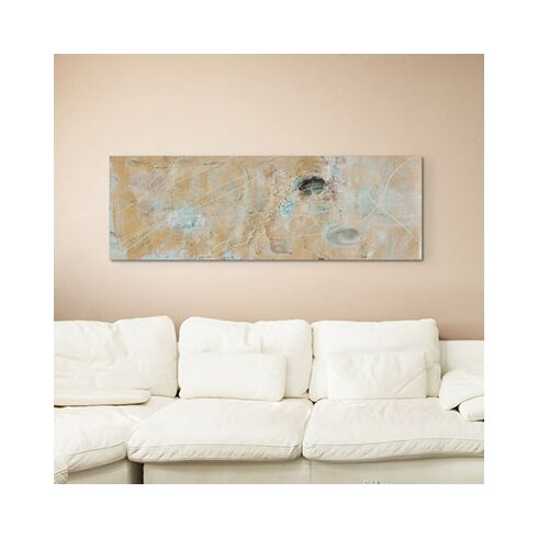 Enigma Panorama Abstrakt 947 Framed Graphic Print on Canvas