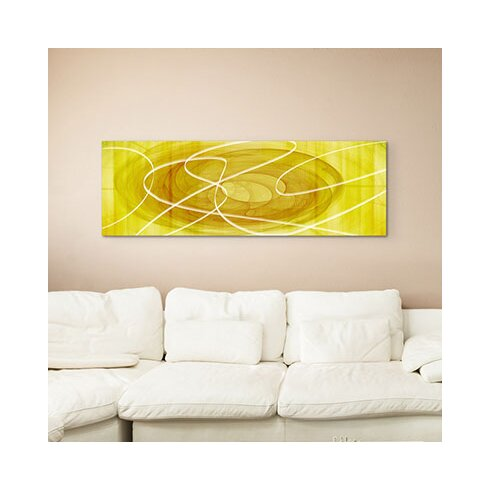 Enigma Panorama Abstrakt 1113 Framed Graphic Print on Canvas