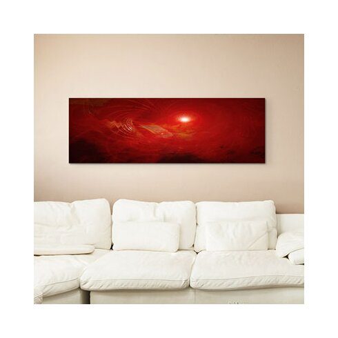 Enigma Panorama Abstrakt 1117 Framed Graphic Print on Canvas