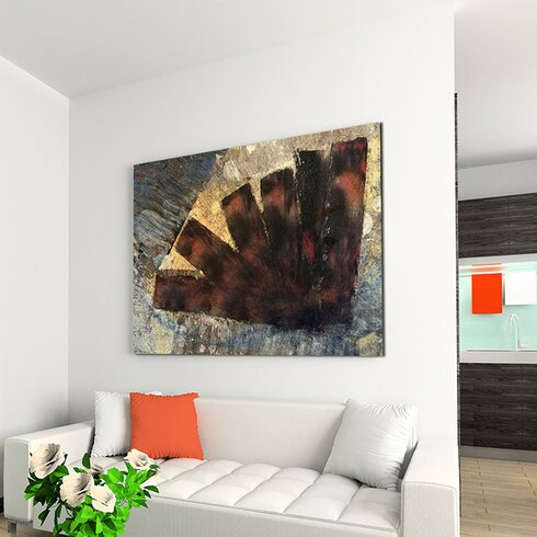 Enigma Abstrakt 969 Framed Graphic Print on Canvas