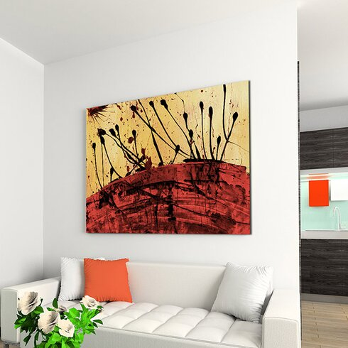 Enigma Abstrakt 684 Painting Print on Canvas