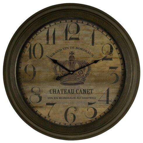 Chateu Canet 58cm Analogue Wall Clock