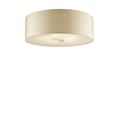 Woody 5 Light Flush Ceiling Light