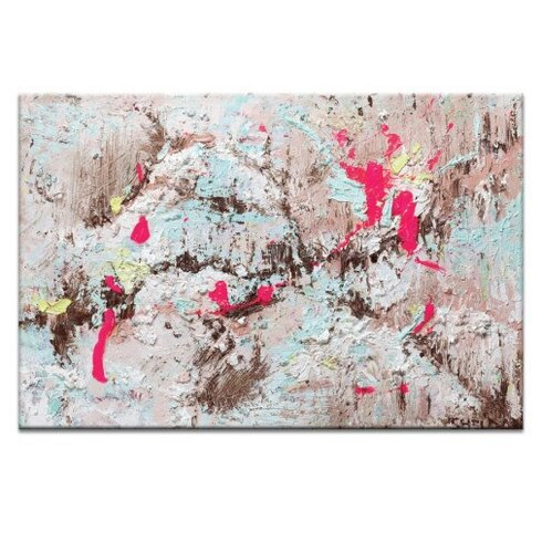 'Rocky Road' by Lou Sheldon Framed Art Print on Wrapped Canvas
