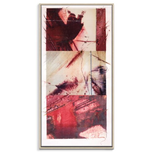 'Paper Screen 9' by Gill Cohn Framed Art Print on Wrapped Canvas