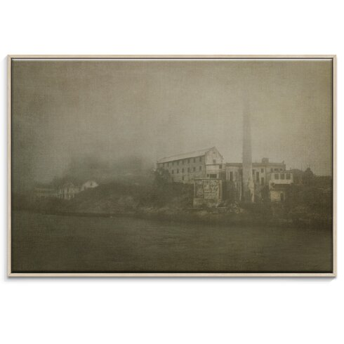 'Alcatraz Approaching ' by Andrew Paranavitana Framed Photographic Print on Wrapped Canvas