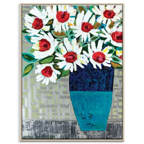 'Kerrie Pot' by Anna Blatman Framed Art Print on Wrapped Canvas