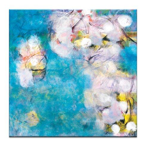 'Luminary' by Mario Burgoa Art Print on Wrapped Canvas