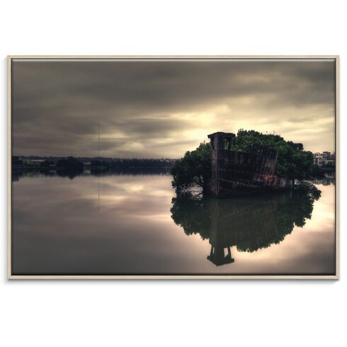 'Stillness Speaks' by Andrew Paranavitana Framed Photographic Print on Wrapped Canvas
