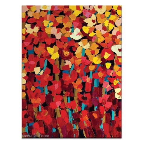 'Jinan' by Anna Blatman Art Print on Wrapped Canvas