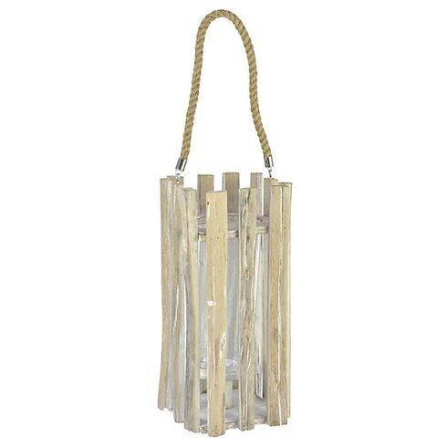 Wooden/Glass/Polyester Lantern