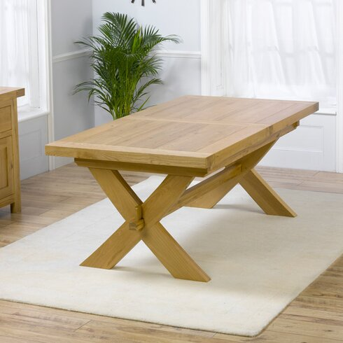 Rochelle Extendable Dining Table and 6 Chairs