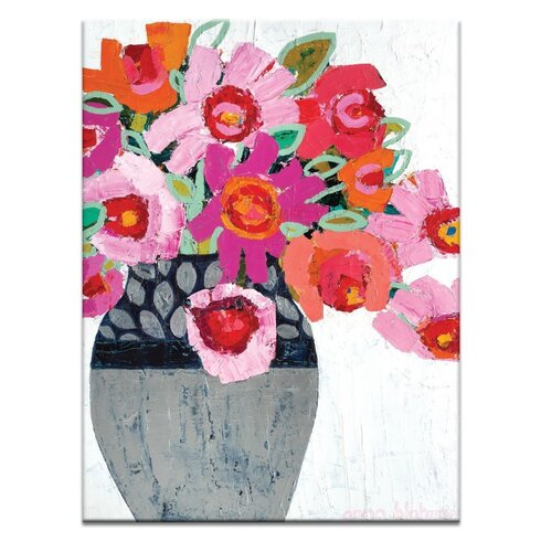 'Fifi's Pot' by Anna Blatman Wall Art on Wrapped Canvas
