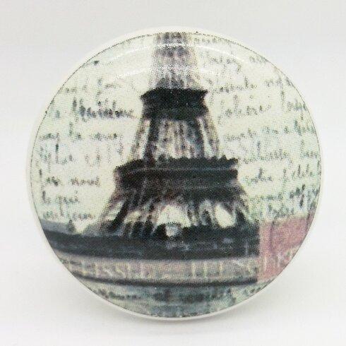 Eiffel Tower Round Knob