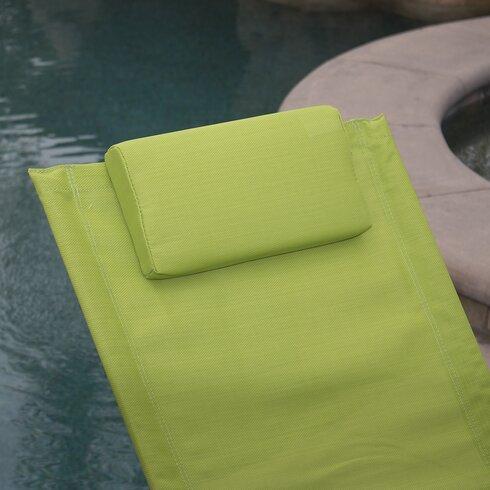 Belleze Orbital Chaise Lounge With Cushion Amp Reviews Wayfair