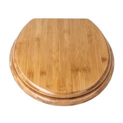 Bamboo Round Toilet Seat