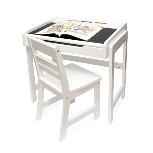 Lipper International Kild S 2 Piece Rectangular Table And