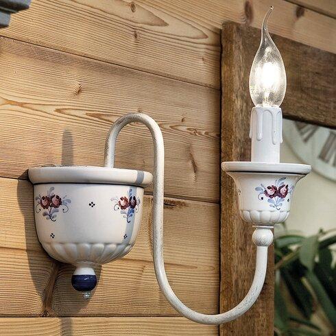 Sanremo 1 Light Wall Lamp