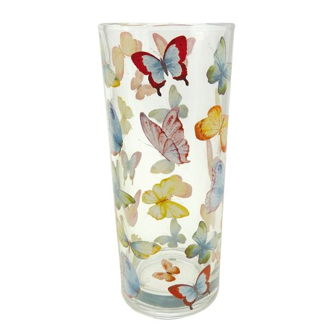 Butterfly Water Glass