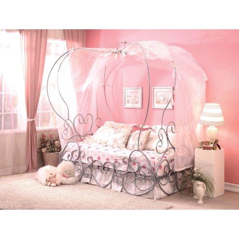 Acme Furniture Priya Canopy Bed Amp Reviews Wayfair