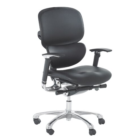 Wave Mid-Back Executive Chair with Lumbar Support