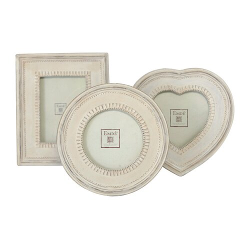 Shabby Elegance 3 Piece Mini Picture Frame Set
