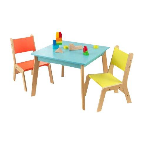 Kidkraft Highlighter Table And Chair Set.KidKraft Highlighter Kids 5 ...
