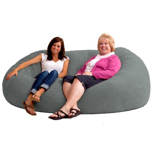 Comfort Research Fuf Bean Bag Sofa Amp Reviews Wayfair Ca