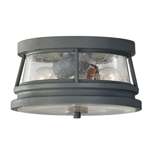 Chelsea Harbor 2 Light Flush Ceiling Light