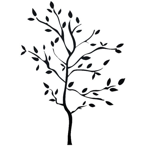Room Mates Tree Branches Peel And Stick Wall Decal Rmk1317gm Rzm1367 on kitchen cabinet set html