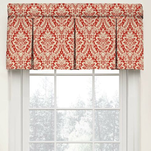 Waverly Donnington Box Pleat Tier Curtain Reviews Wayfair