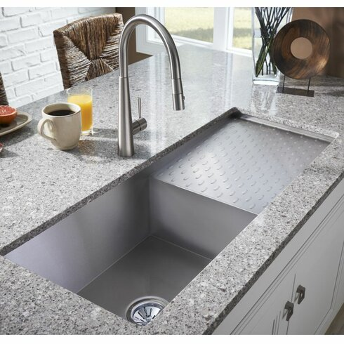 43 x 22 kitchen sink elkay avado 43 5 quot x 18 25 quot single bowl kitchen sink 7359