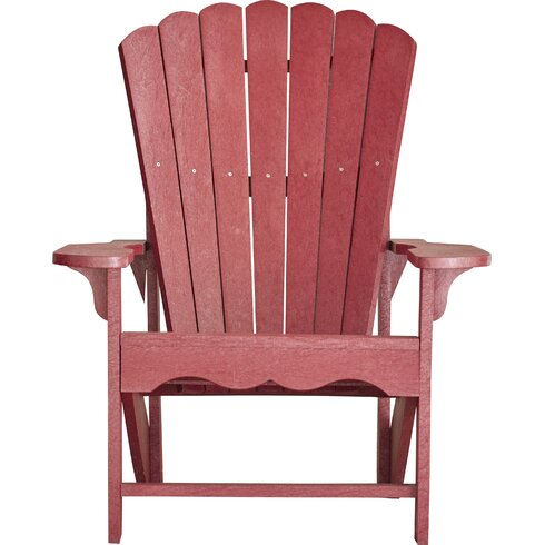 Bay Isle Home Aloa Adirondack Chair Reviews Wayfair