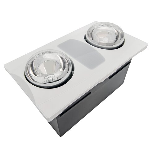 Aero Pure 80 CFM Bathroom Fan with Heater and LightReviews