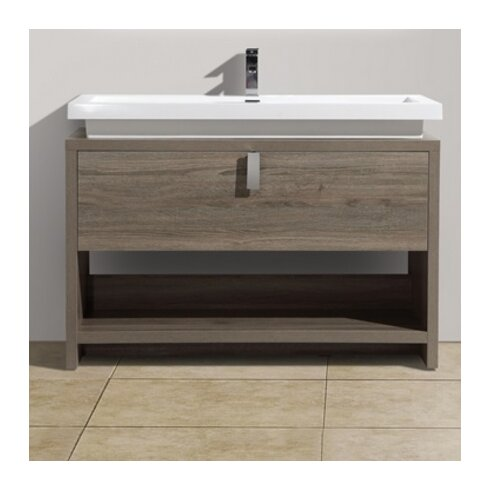 Kube Bath Levi 39 5 Single Modern Bathroom Vanity Set Reviews Wayfair