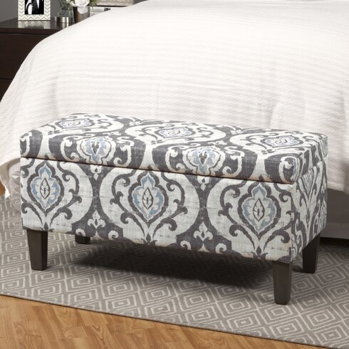 Bungalow Rose Muhammed Upholstered Storage OttomanReviews