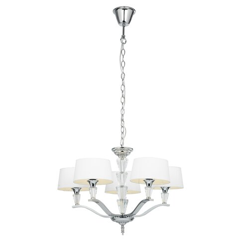 Endon Lighting Fiennes 5 Light Candle Chandelier Amp Reviews