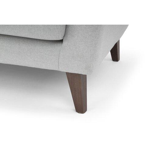 Nordic Upholstery Viktor Retro Modern SofaReviewsWayfair
