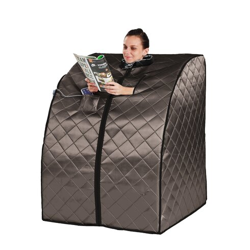 radiant saunas 1 person rejuvenator portable sauna reviews wayfair. Black Bedroom Furniture Sets. Home Design Ideas