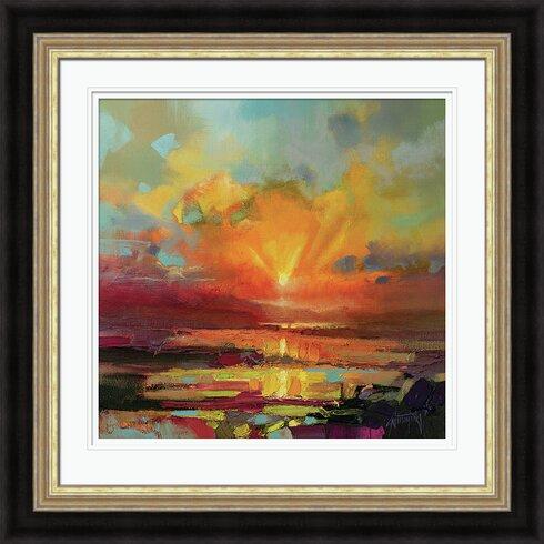 Optimism Sunrise by Scott Naismith Framed Painting Print