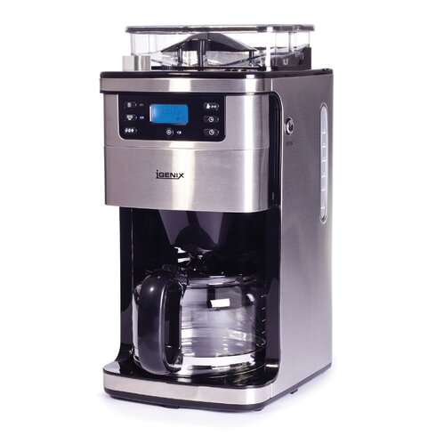 1050W 1.5L Bean to Cup Digital Filter Coffee Maker