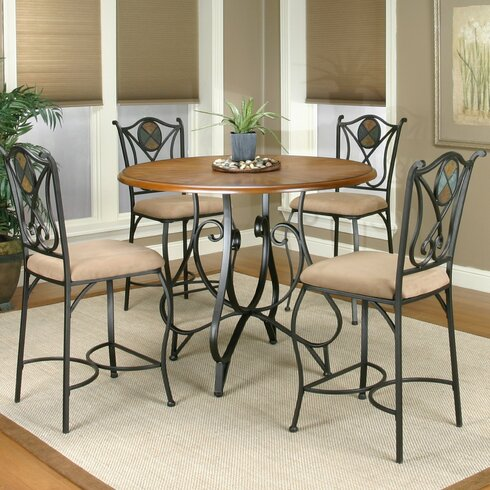 loon peak el diente 5 piece counter height dining set reviews
