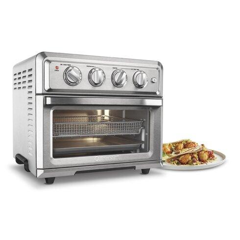 0 6 Cu Ft Air Fryer Toaster Oven Amp Reviews Allmodern
