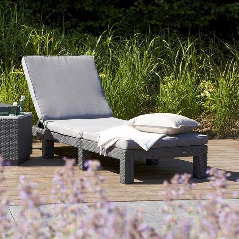 Rano Sun Lounger with Cushion