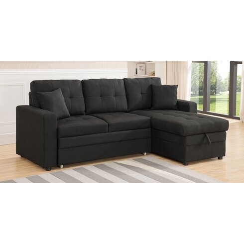 latitude run weymand reversible chaise sectional reviews wayfair. Black Bedroom Furniture Sets. Home Design Ideas