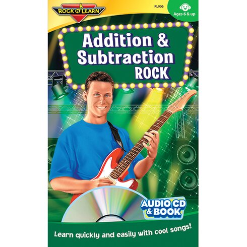 Addition and Subtraction Rock Book CD