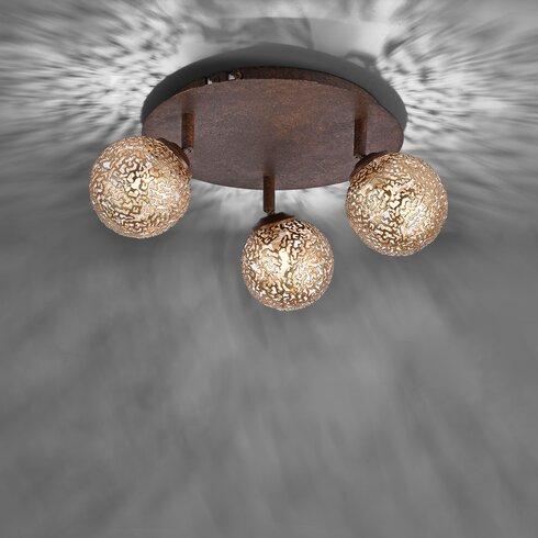 caracella deckenstrahler 3 flammig greta bewertungen. Black Bedroom Furniture Sets. Home Design Ideas