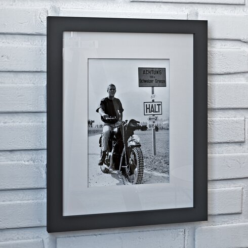 'Steve McQueen Great Escape' Framed Photographic Print